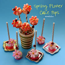 Halloween Cake Pops Recipe Easy Candy Flower Cake Pops Pint Sized Baker