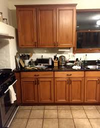 does chalk paint look on kitchen cabinets how 500 and some chalk paint totally transformed this kitchen