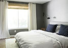 West Elm White Bedroom It U0027s Curtains Chris Loves Julia