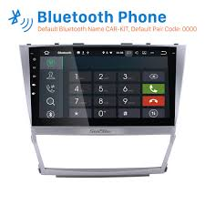 gps toyota camry inch 2007 2011 toyota camry android 7 1 1024 600 touchscreen radio