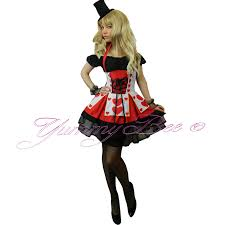 cheap plus size halloween costumes yummy bee fancy dress costume alice wonderland womens queen mad