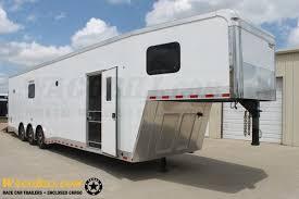 Cargo Trailer With Bathroom 40 U0027 Amg Bathroom Shower Race Trailer For Sale In Terrell Tx