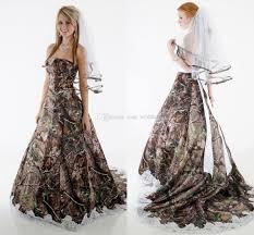 camo dresses for weddings discount camo wedding dresses strapless appliques fluffy