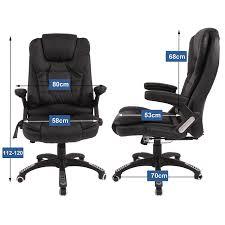 Esszimmerstuhl Rudi Bürostuhl Schreibtischstuhl Massage Bürosessel Drehstuhl Wärme