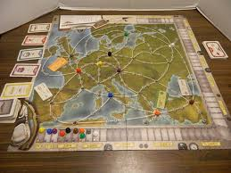 Europe Map Games by Airlines Europe Board Game Review And Rules Geeky Hobbies