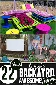 DIY Backyard Ideas For Kids PLAYTIVITIES - Backyard playground designs