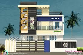 tamilnadu style 3 bedroom modern home plan kerala home design