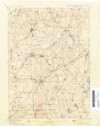Map Of Canaan Massachusetts Historical Topographic Maps Perry Castañeda Map