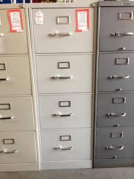 Grey Filing Cabinet Advanced Liquidators Hon 4 Drawer Legal Size Vertical Files