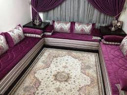tissu pour canapé marocain tlamet salon marocain benchrif ou bahja