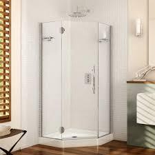 38 Inch Neo Angle Shower Doors Fleurco Glass Showers Platinum Neo Angle 3 8