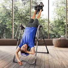 body bridge inversion table teeter ep 960 ltd inversion table with pressure point and traction