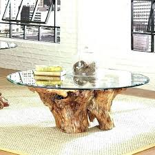 tree trunk coffee table tree trunk coffee table table table made from tree trunk reclaimed