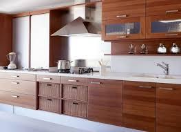 modern wood kitchen design appliances glamorous stylish modern wooden kitchen cabinet with