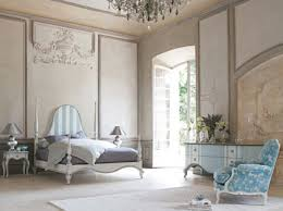 handsome beige blue chic bedroom decoration using curve light blue