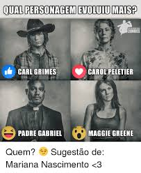 Carol Twd Meme - qual personagemetoluiumaised the walkingdead zombies carl grimes