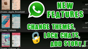 themes lock com use cool whatsapp features change whatsapp themes lock chats add