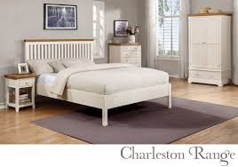 Charleston  Door  Drawer Wardrobe In Cream And Oak Furniture - Charleston bedroom furniture