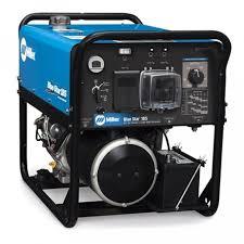 miller blue star 185 kohler engine drive welder and generator