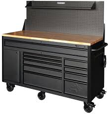 Workbench With Light New Husky 60 U2033 Mobile Workbench With Sliding Pegboard Back
