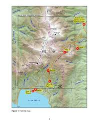Unr Map Fire And Ice Geology Of The Mount Rose Quadrangle Lake Tahoe