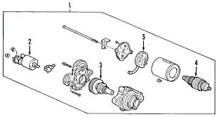 2001 honda accord starter parts com honda starter solenoid 6 cylinder partnumber 31210p8aa01