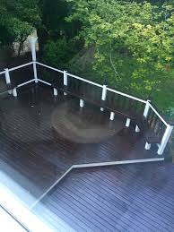 Drysnap Under Deck Rain Carrying System by Deck Staining Re Done Rails Benches And Deck Boards Stained With