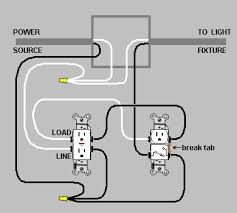 electrical wiring a switch outlet combo device and gfci home