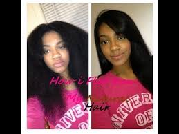 best flat iron sspray for african american hair how i flat iron my natural hair youtube
