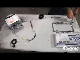 how to install a back up camera sonic electronix youtube