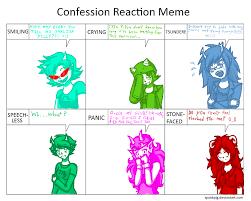 Homestuck Memes - confession meme homestuck girls by bloodwolfgoth on deviantart