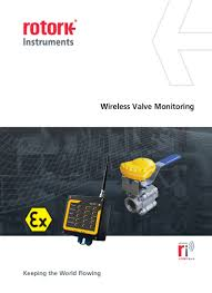 wireless valve monitoring system from rotork
