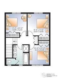 Carleton Floor Plans House Plan W3719 Detail From Drummondhouseplans Com