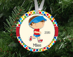 running ornaments etsy