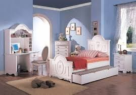 sophie girls white traditional twin bedroom set w floral panel bed