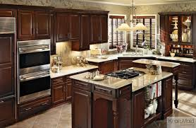 kraftmaid cabinetry kitchen traditional with built in kitchen
