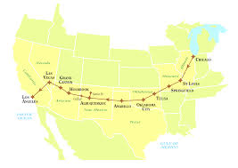 map your usa road trip visiting new mexico on your route 66 road trip road trip usa for