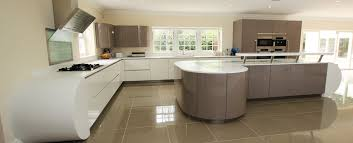 curved kitchen island designs curved kitchens from lwk kitchens german kitchen supplier