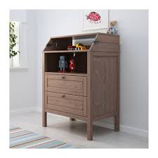 Brown Changing Table Sundvik Changing Table Chest Of Drawers Ikea
