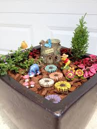 Winnie the Pooh Fairy Garden Fairy Gardens Pinterest
