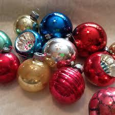 shop vintage shiny brite glass christmas ornaments on wanelo