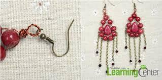 diy drop earrings diy jewelry on fashionable drop earrings with jade