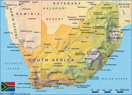 South Africa World Map Map Of South Africa Map In The Atlas Of The World World Atlas