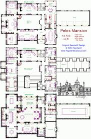 mansion floor plans castle 100 images house plan balmoral