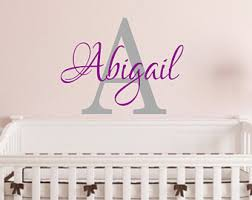 Etsy Wall Decals Nursery Baby Wall Decals Etsy