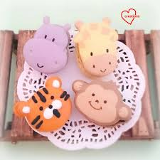 loving creations for you safari animals assorted macarons