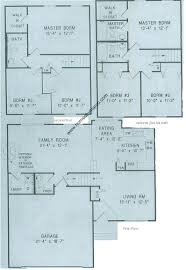 split level house plan basement home plans split level home plan