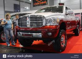 dodge truck car the picture shows the new dodge ram mega cab during the car show