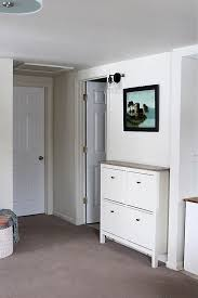 built in hallway cabinets ikea shoe cabinet hack as faux built in hallway storage stow tellu