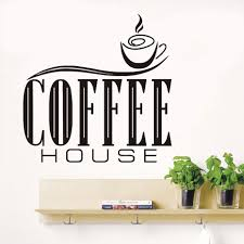 popular cute kitchen quotes buy cheap cute kitchen quotes lots coffee house quotes wall sticker diy removable cute coffee cup wallpaper kitchen restaurant vinyl wall decals
